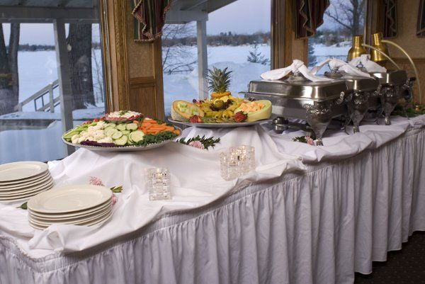 We provide our clients all types of services from buffets, family style and plated meals.
