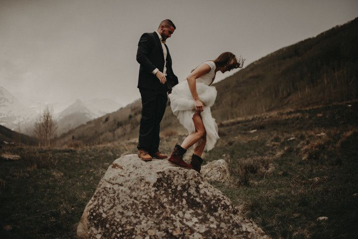 Adventurous wedding