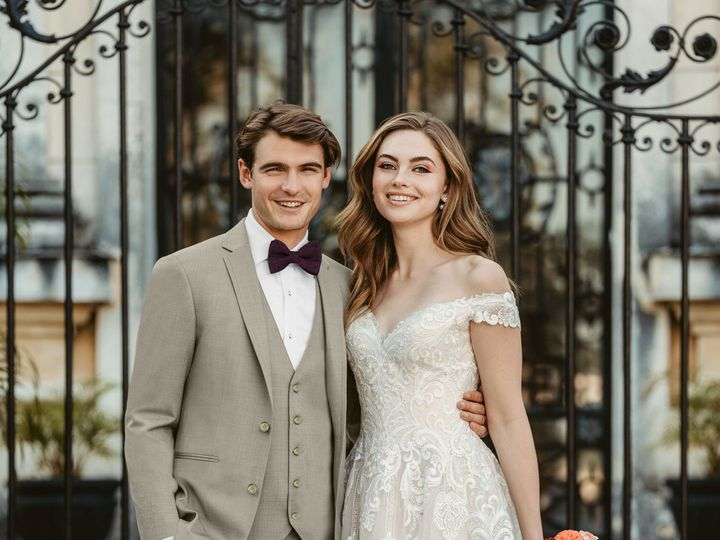 Tmx 202 Allure Ultra Slim Fit Tan Suit 20 51 1947953 159137318238568 Bastrop, TX wedding dress
