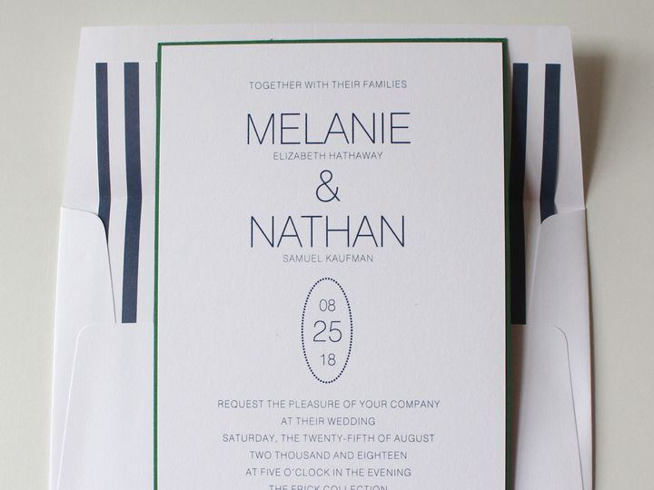 Tmx 1429114541487 Img5464 Philadelphia, PA wedding invitation
