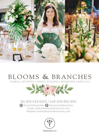 Blooms & Branches Flyer