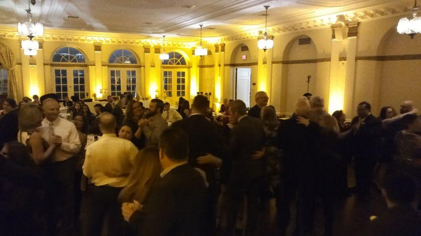 Uplighting at reception