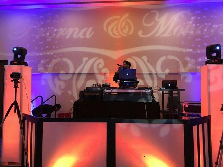 DJ/MC setup