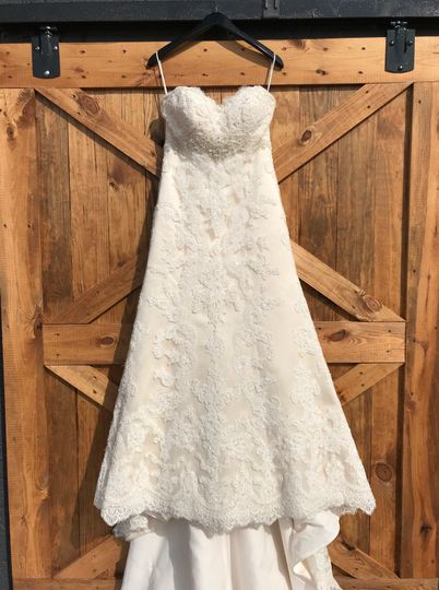 Milk barn door bridal shoot