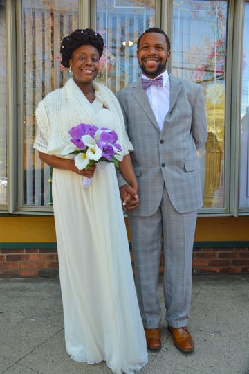 Couple just married!
