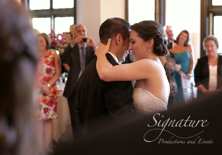 new jersey wedding video cherry country club first