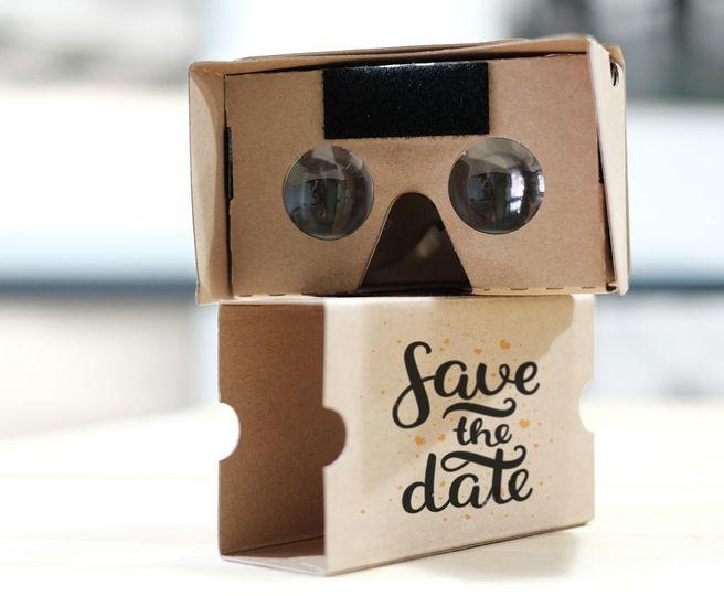 Wedding VR cardboard