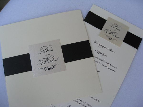 Invitation and Menu