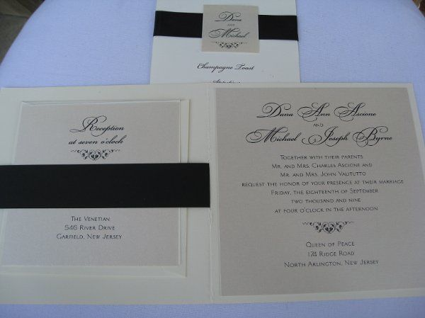 inside of invitation