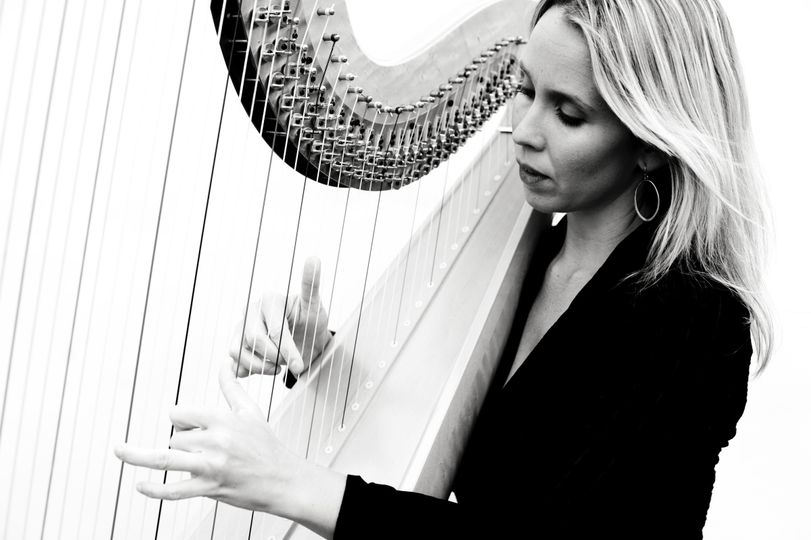 Danielle and her harp