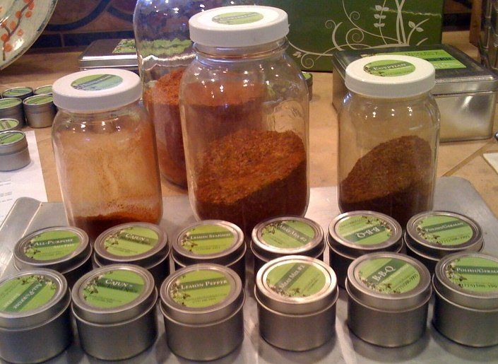 Spice blends are hand crafted in small quantities for guaranteed freshness!