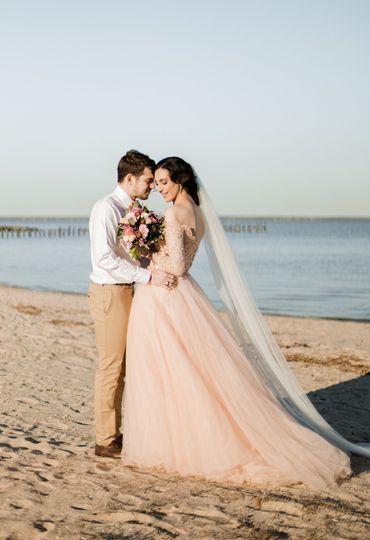Intimate Beach Ceremony