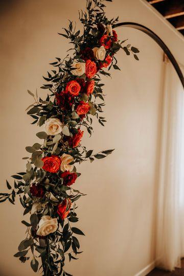 Fall Wedding Arch