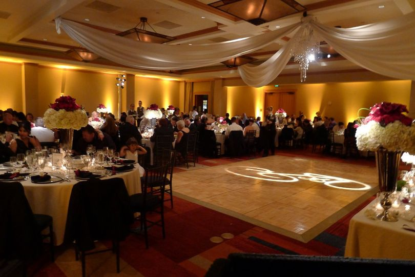Cordevalle Country Club Sound In Motion providing DJ, lighting and monogram