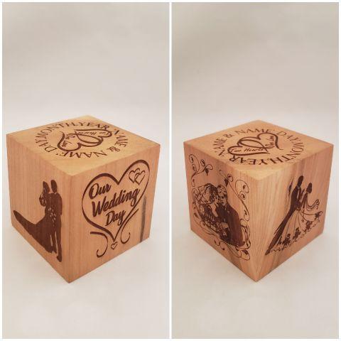 Wedding cube