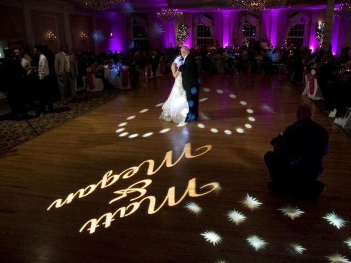 Tmx 1357761341681 GoboUplightingWeddingDJAbbingtonGlenEllyn800x533 Lombard, Illinois wedding eventproduction