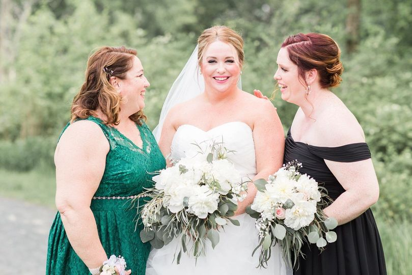 May bouquets. Photo courtesy Lauren Dobish Photography.