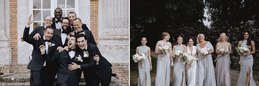 Bridal Party Chateau de Carsix
