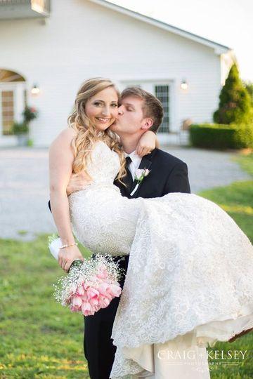 Sweet newlyweds