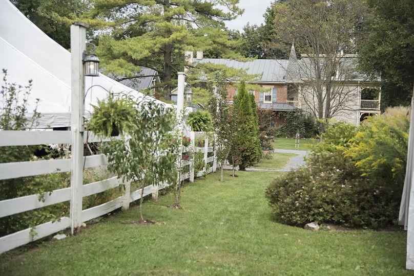 Tree farm grounds