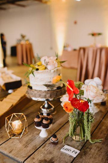 Wedding decor detail