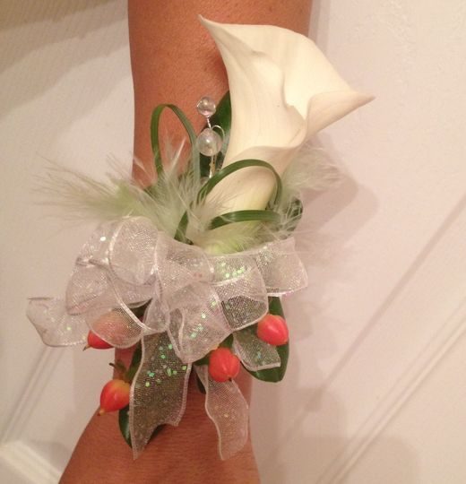 Fresh white flower