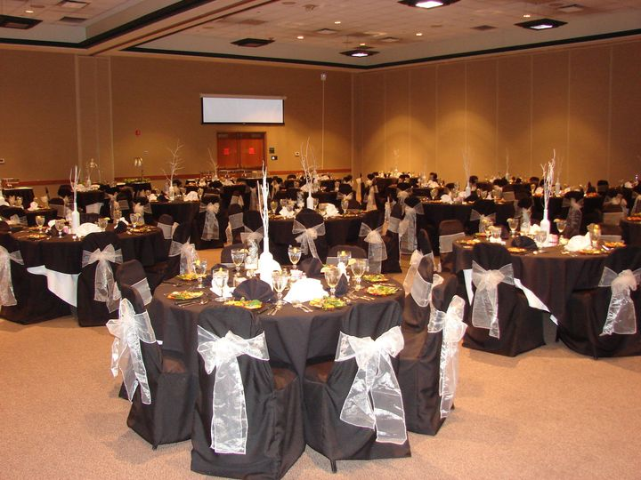 The conference center offers a total of 6,048 square feet of meeting space, which can be customized...