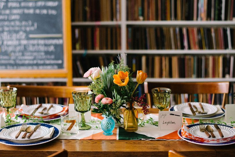 Photo by Lindsay Hackney PhotographyPlanning and design by Lindsey M. Events Flowers by Gardenia...
