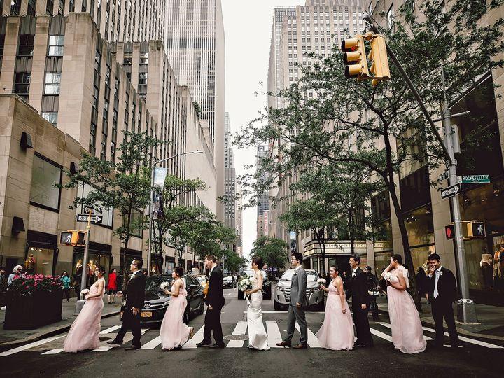 Tmx Liz Zhu Yu Shi 5 27 18 Ein Photography Abbey Road Crosswalk Bridal Party 51 1057063 1557361778 Long Island City, NY wedding planner