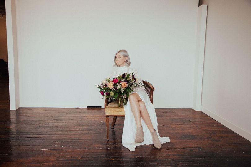 A bridal portrait - Gabbi Poirier Videographer & Photographer