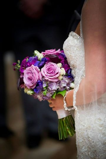 liz echols wedding bouquet