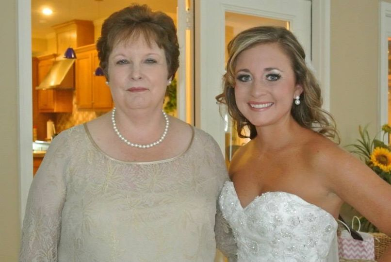 PArent and bride