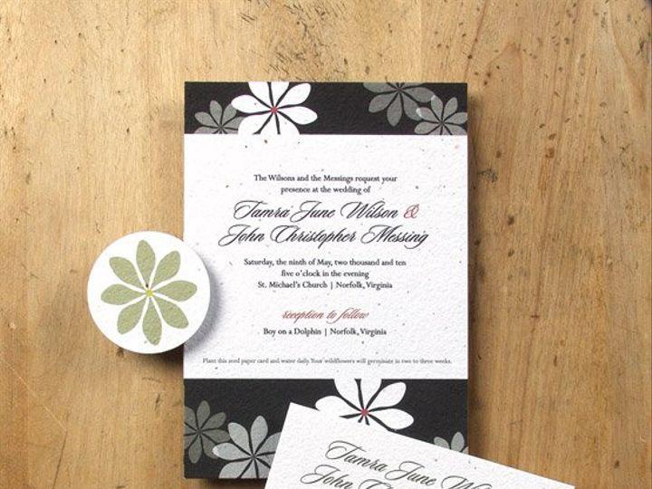Tmx 1348165426234 BloomWeddingGardenia6.8 Portland wedding invitation