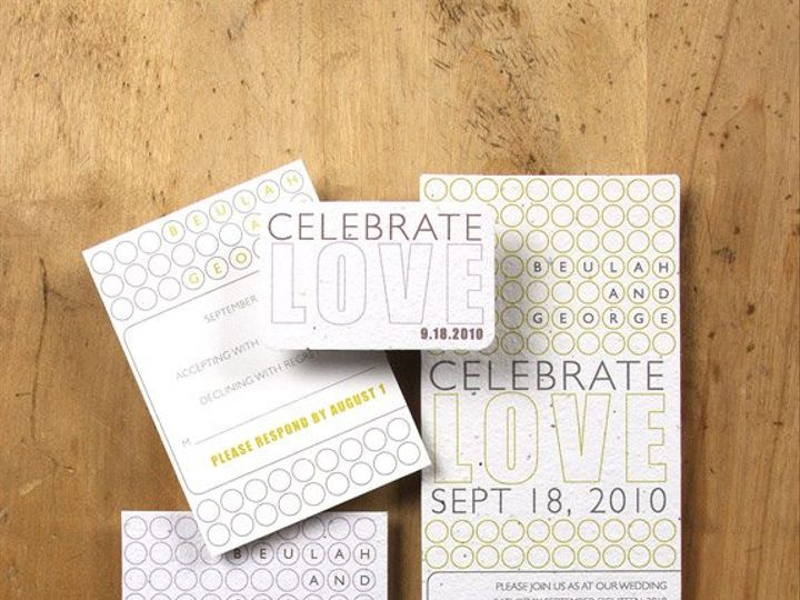Tmx 1348165437510 BloomWeddingLaurel6.8 Portland wedding invitation