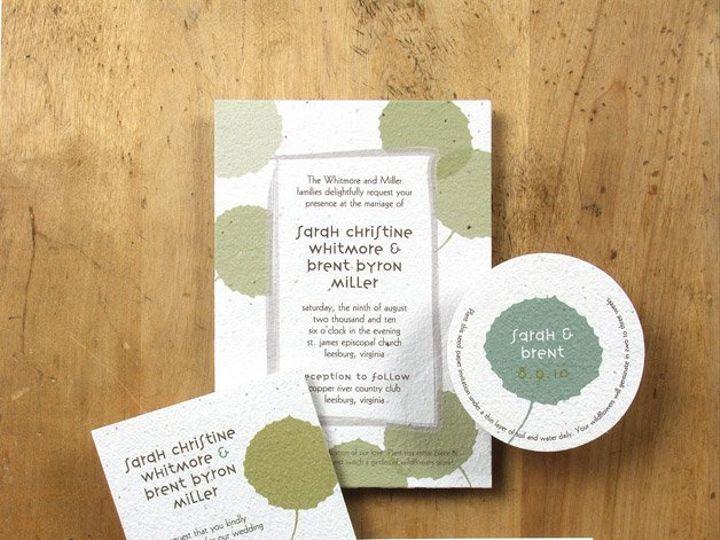 Tmx 1348165460345 BloomWeddingPoplar6.8 Portland wedding invitation