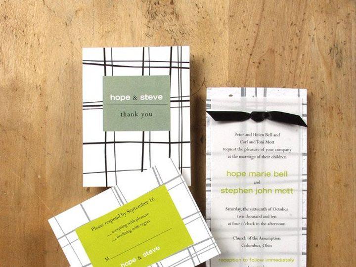 Tmx 1348165467747 BloomWeddingThyme6.8 Portland wedding invitation