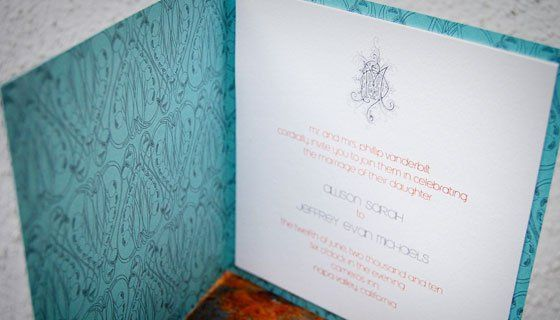 Tmx 1352597870582 Wileymodernelegance12 Portland wedding invitation