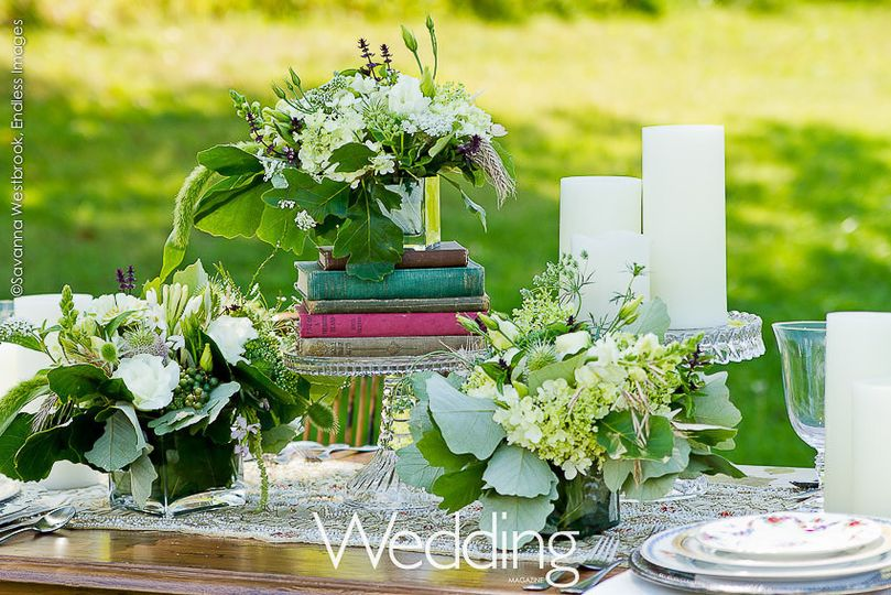 weddings by nancy wedding table top inspiration 4