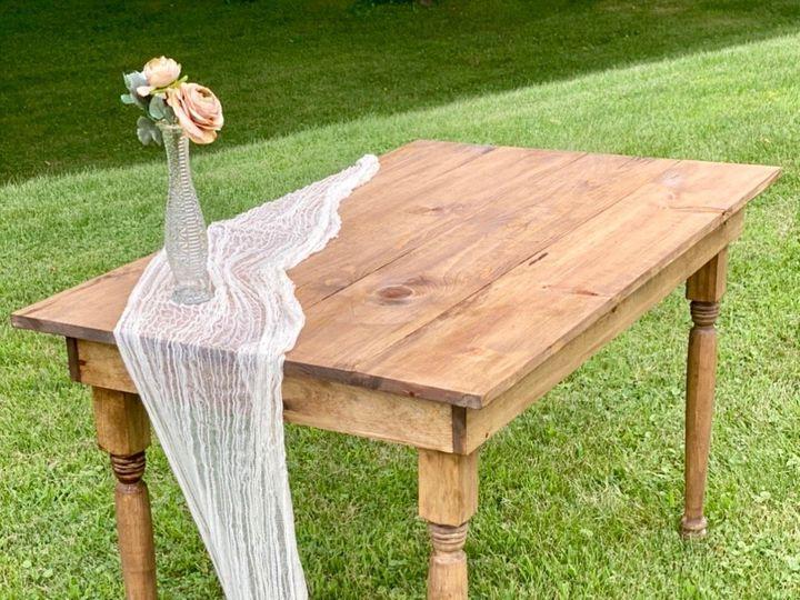 Tmx 4 Ft Harvest Table 51 1891163 159621806021797 Davenport, IA wedding rental