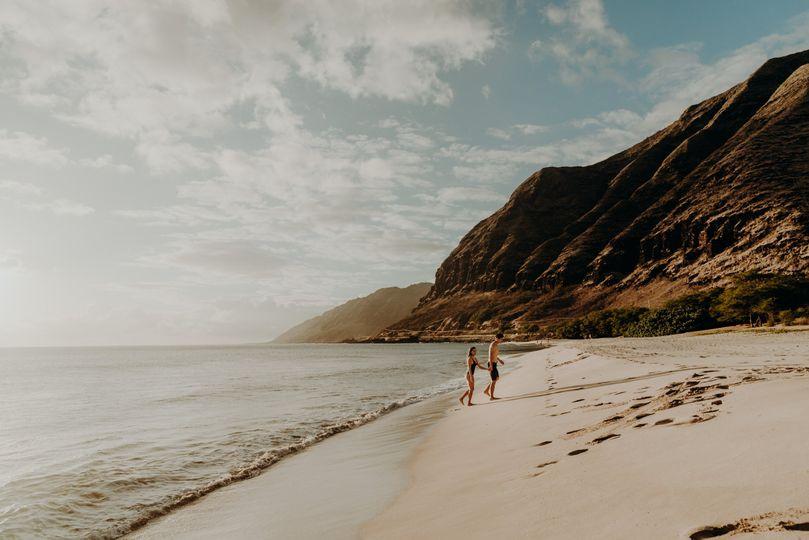 Oahu couple's session