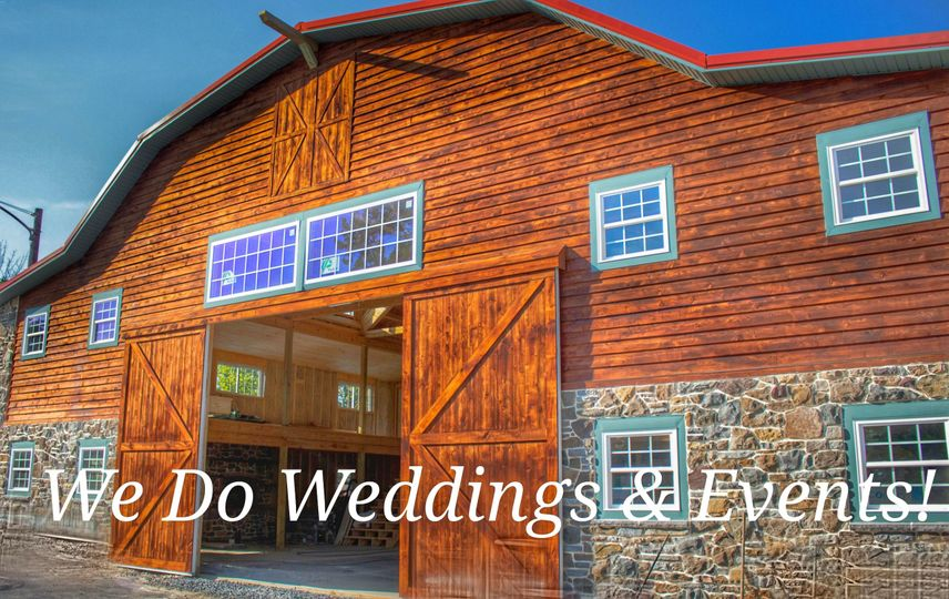 The Barn! The new Wedding & Event Venue at The Herr Ridge Farm