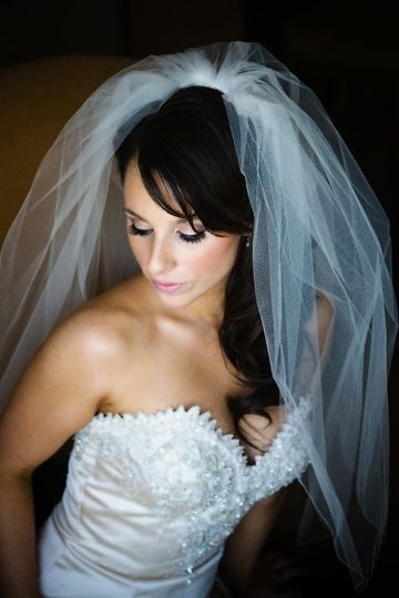 Bride makeup & custom lashes