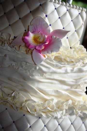 jeweled fabric wedding