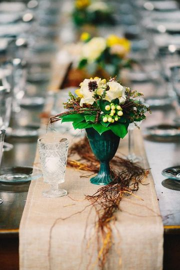 Tablescape - rustic charm