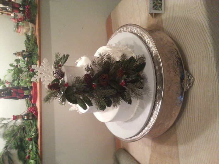 winter pine holly cake for barbara renner 12 13 1