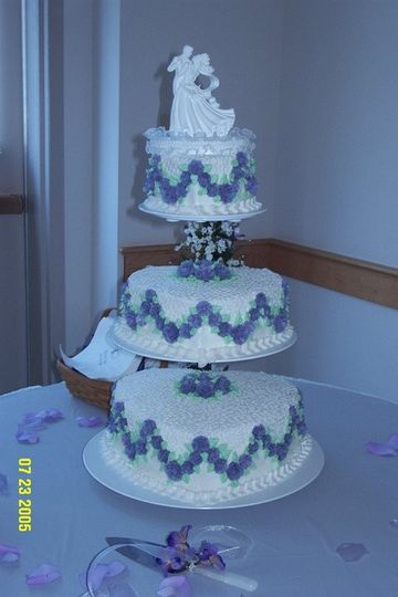 purple wedding w cornelli lace
