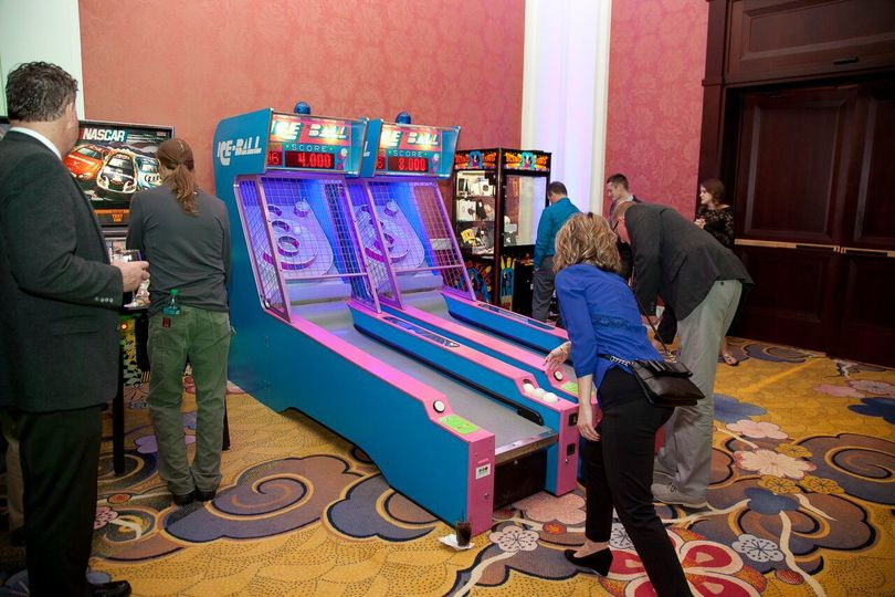 Everyone loves skeeball!