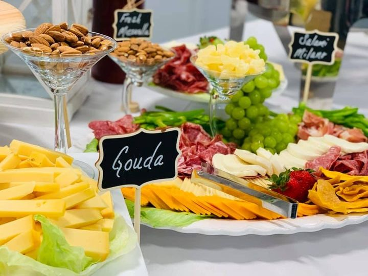 Meat & Cheese Table