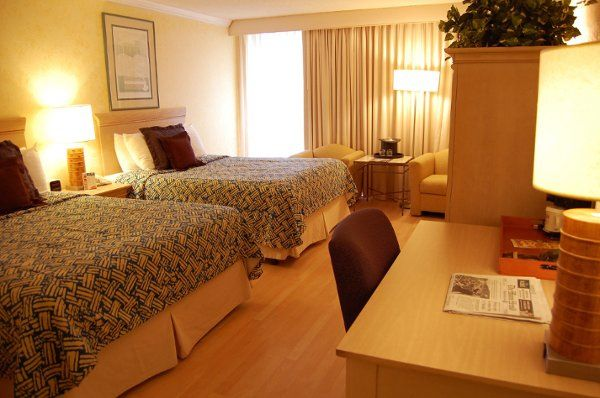 Your out of town guests can stay with us in either this Standar 2 Queen Beds room or a King Size...