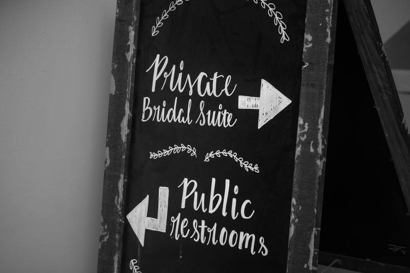 Wedding art and signage